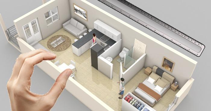 Microapartamentos demandam móveis funcionais e aconchegantes